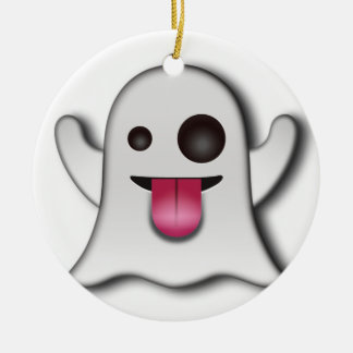Cutest Ghost next to Casper! Christmas Ornament