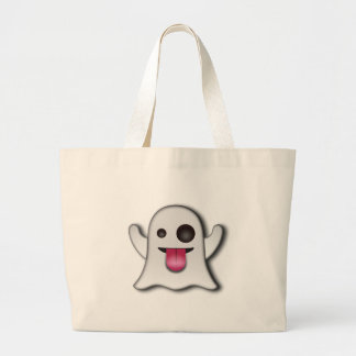 Cutest Ghost next to Casper! Large Tote Bag