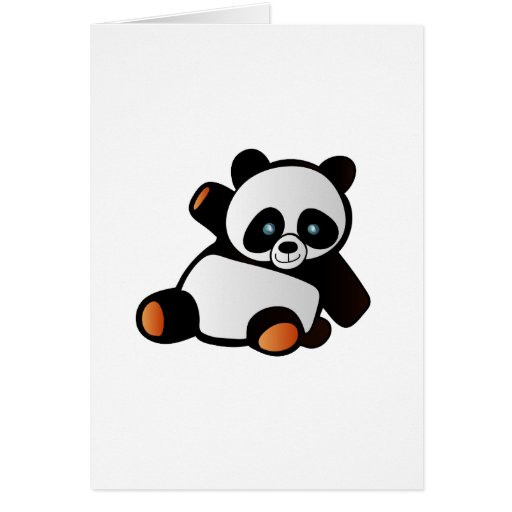 Cutest Panda ever Card