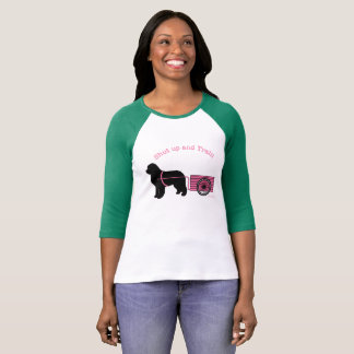 Cutest Pink Shut Up and Train Draft Dog Shirt