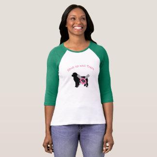 Cutest Pink Shut Up and Train Water Dog Shirt