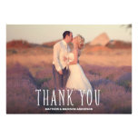 Cutest Thanks | Wedding Thank You Photo Card