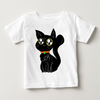 Cutesy Black Kitty T Shirt