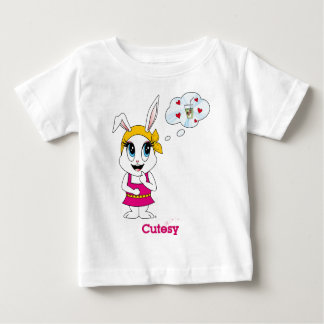Cutesy Bunny™ Gear Infant T-Shirt