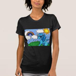 Cutesy Unicorn and Rainbow T-Shirt