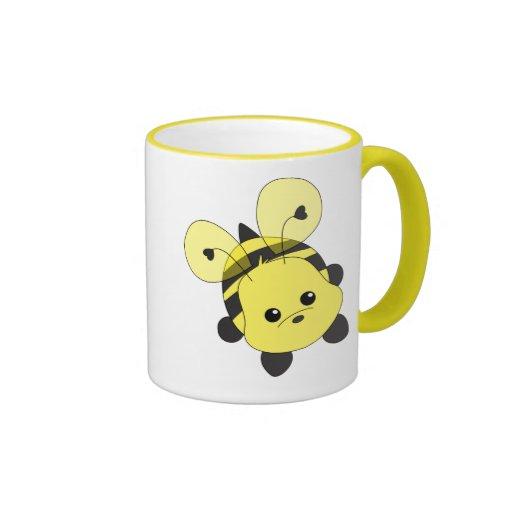 Cutie Bee Ringer Mug