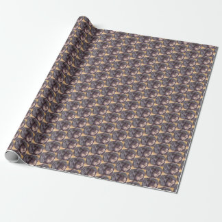 CUTIE BLACK COCK-A-POO MIX WRAPPING PAPER