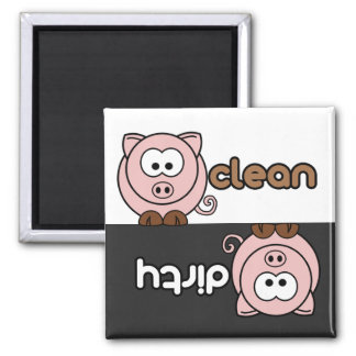 Cutie Cartoon Dishwasher Magnet