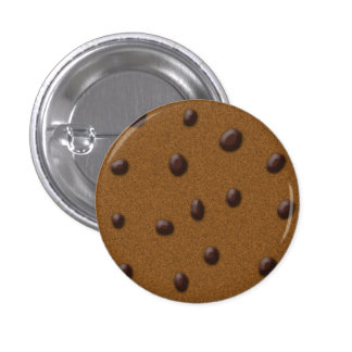 cutie choc chip cookie 3 cm round badge