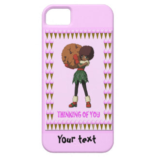 Cutie Cookie with ice creams Case For The iPhone 5