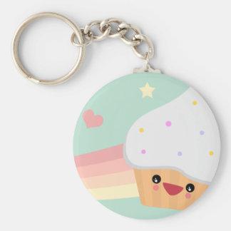 Cutie Cupcake Key Ring