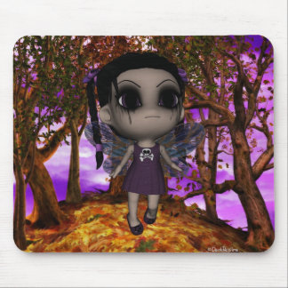 Cutie Goth Fairy Fly 2 Mouse Mat