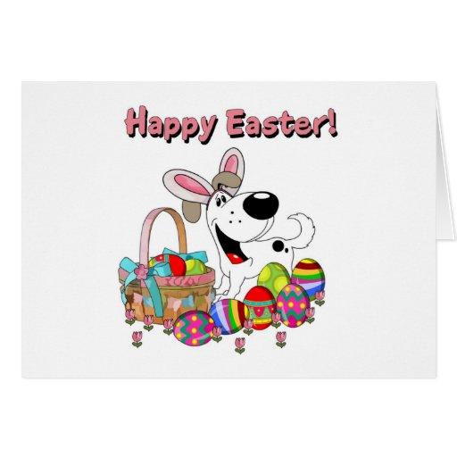Cutie has Easter Bunny Ears Cards