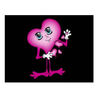 Cutie Heart Postcard