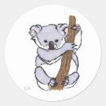 cutie koala stickers
