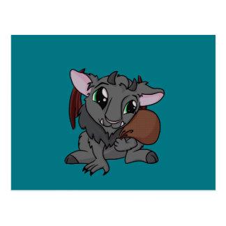 Cutie Krampus! Postcard