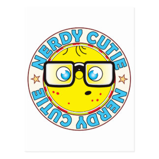 Cutie Nerdy Postcard