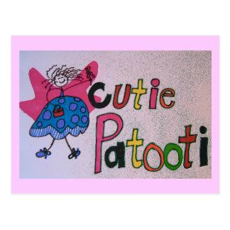 cutie patooti Postcard