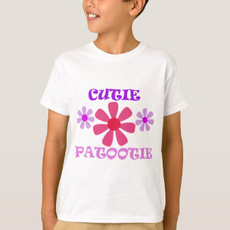 Cutie Patootie with Flowers T-Shirt