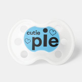 Cutie Pie Soother for baby boy! Baby Pacifier