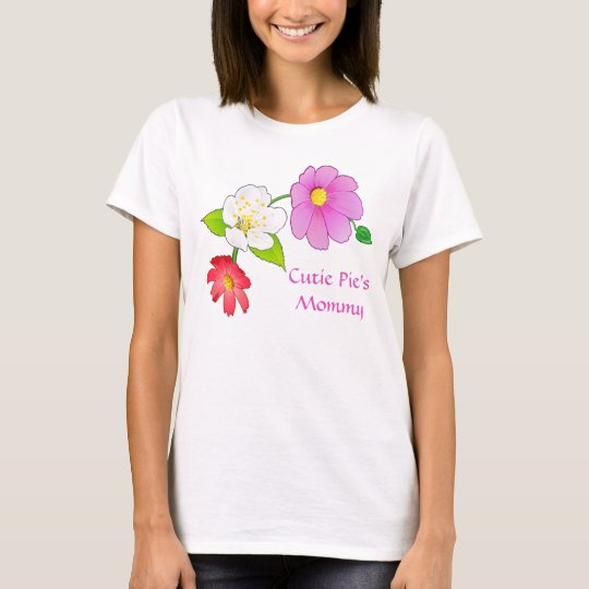 Cutie Pie's Mummy and Baby Matching Clothes TShirt