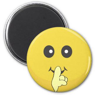 Cutie Smiey Face 6 Cm Round Magnet