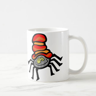 Cutie Spider Basic White Mug