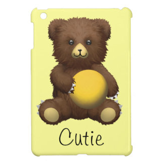 Cutie Teddy Bear iPad Mini Cases