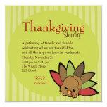 Cutie Turkey Invites