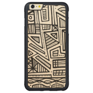 Cutillo Abstract Expression Black and White iPhone 6 Plus Case