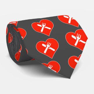 Cutlery Icon Tie