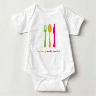 Cutlery made me fat t-shirts