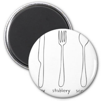 Cutlery Refrigerator Magnets