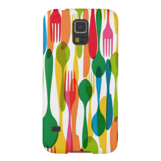 Cutlery Pattern Illustration Galaxy S5 Cover