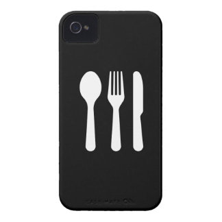 Cutlery Pictogram iPhone 4 Case