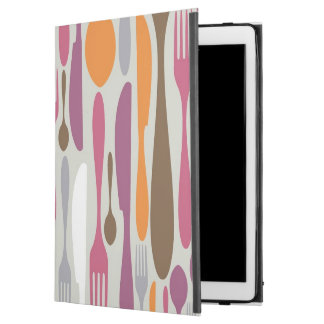 """Cutlery Silhouette Icons Pattern 2 iPad Pro 12.9"""" Case"""