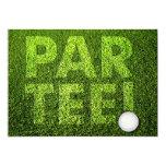 Cutomizable Golf Party Celebration Invitation 13 Cm X 18 Cm Invitation Card