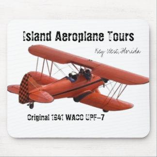 cutoutbiplane, Island Aeroplane Tours, Key West... Mouse Mat
