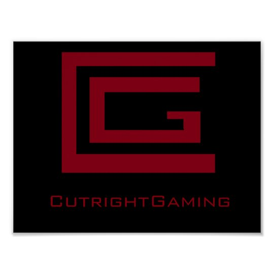 CutrightGaming Poster