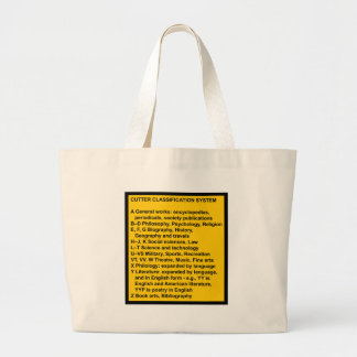 Cutter Expansive Classification Jumbo Tote Bag