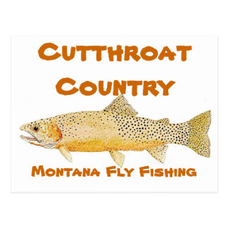 Cutthroat Country Postcard