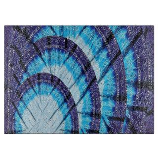 "Cutting Board 15""x11"" Blue Moon Shine Pattern gift"