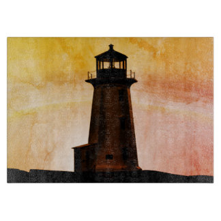 cutting board Peggy's Cove Nova Scotia lighthouse