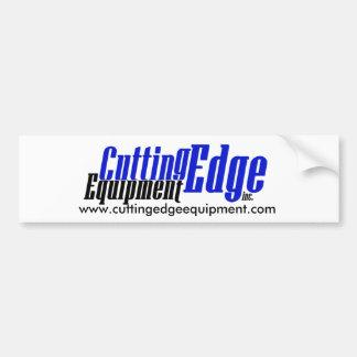 Cutting Edge bumper sticker