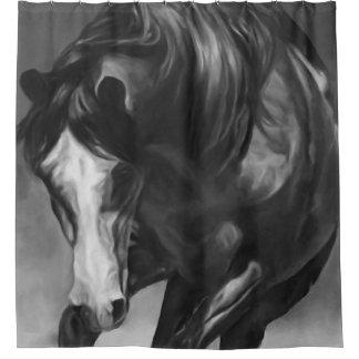 Cutting Horse Shower Curtain