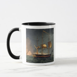 Cutting out of the Hermione from the Harbour of Po Mug