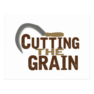 Cutting The Grain Postcard