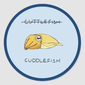 Cuttlefish Sticker