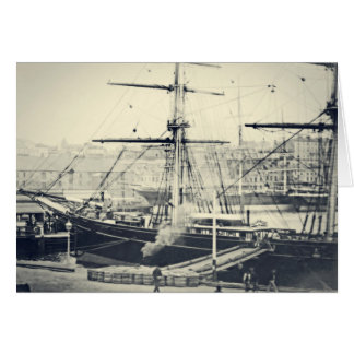 Cutty Sark in Harbor Greeting Card