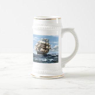Cutty Sark vintage ships Beer Stein